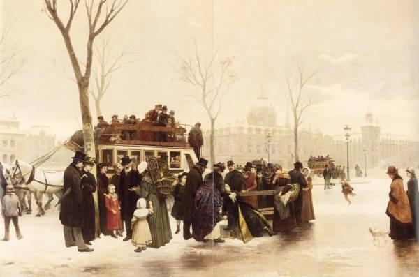 Cornet A Disturbance on Le Quai de Gesvres Paris